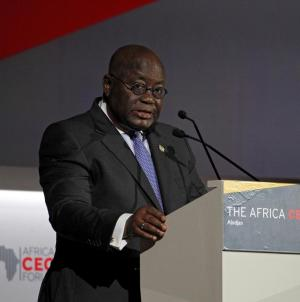 Ghana's President Receives World's 1st Free Covax Jab