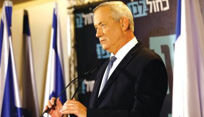 Gantz: Israel Determined to Prevent Formation of Hezbollah Branch In Syria