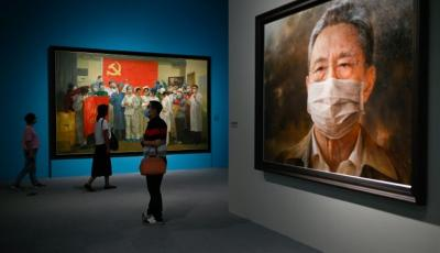 China Promotes Its 'Heroic' Battle Against Virus in New Exhibition