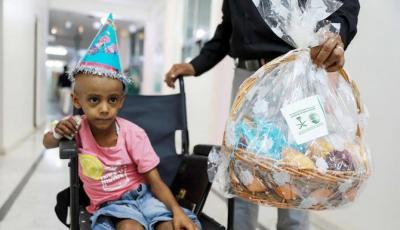 KSrelief Gives Helping Hand to Yemen Orphans