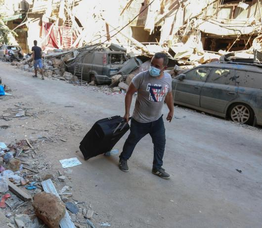 #OurHomesAreOpen: Lebanese Offer Spare Beds to Beirut Blast Victims