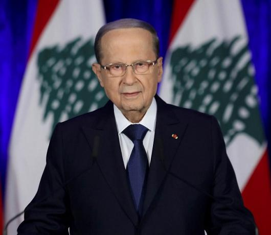 Aoun Complains of 'Barricades' against him as he Completes 4th Year as Lebanon's President