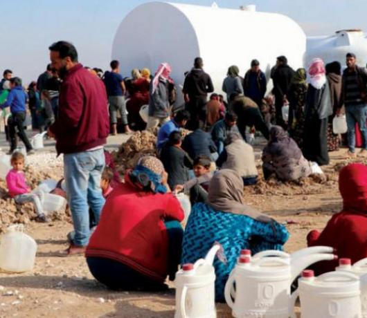 A Million Syrians Face Disaster from Turkey's 'Water War'