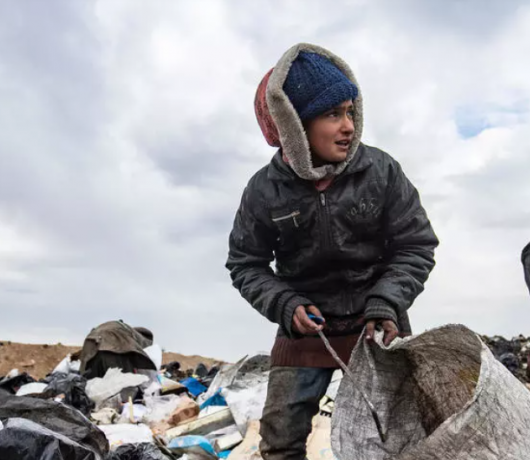 Syrians Rummage in Trash to Survive