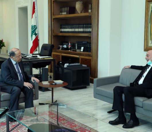 The 'Impossible' Relationship and History of Disputes between Lebanon's Aoun, Jumblatt