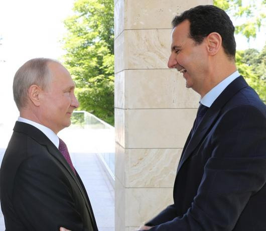 Why Has Moscow Now Chosen to Reveal Assad's Plea to 'Save' him in 2013?