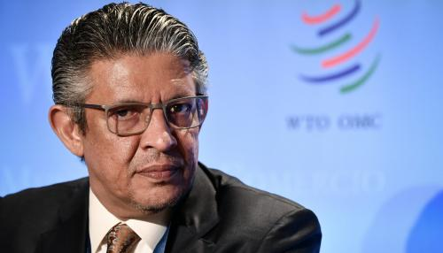 Mohammad Al-Tuwaijri Passes Round One of WTO Leadership Race
