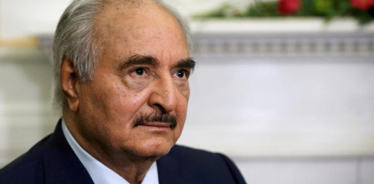 Libya's Haftar Vows to Carry on Fight against Turkey, GNA