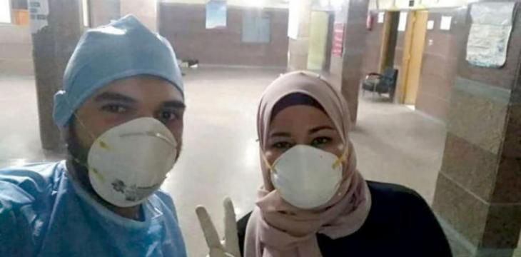 Defying Fear, Nurse Greets News of her Infection with COVID-19 with a Seflie