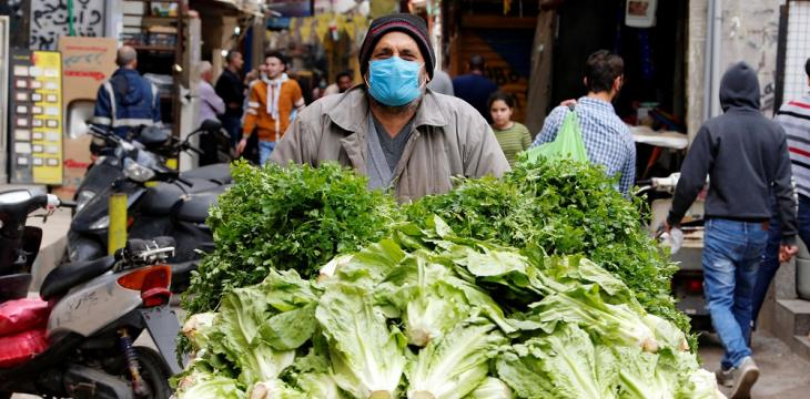 Beirut Streets Get Caught between Poverty, Epidemic