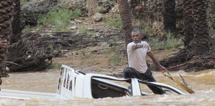 Floods Leave 16 Dead in Yemen