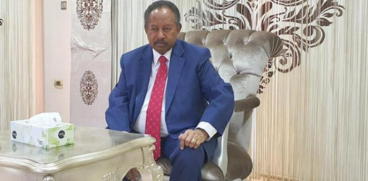 Hamdok to Asharq Al-Awsat: Our Relations With US Are Advancing, No Fear with Ethiopia