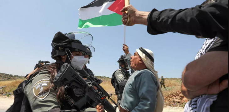 Protests in Occupied West Bank Against Israeli Annexation Plan