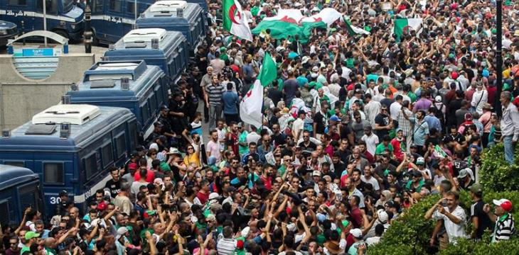 Algerians Call for Removal of Bouteflika's Parties