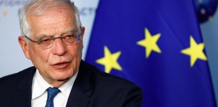 Josep Borrell to Asharq Al-Awsat: Regime, Not Sanctions, Responsible for Syrian People's Suffering