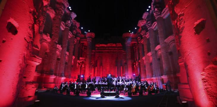 Single-Concert Lebanon Festival Serenades Empty Ruins