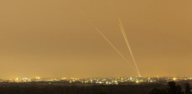 Israel Launches Gaza Strikes after Militants Fire Rockets