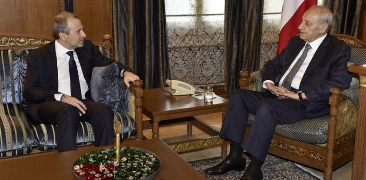 Lebanon: Berri-Bassil Understanding Rules out Government Reshuffle