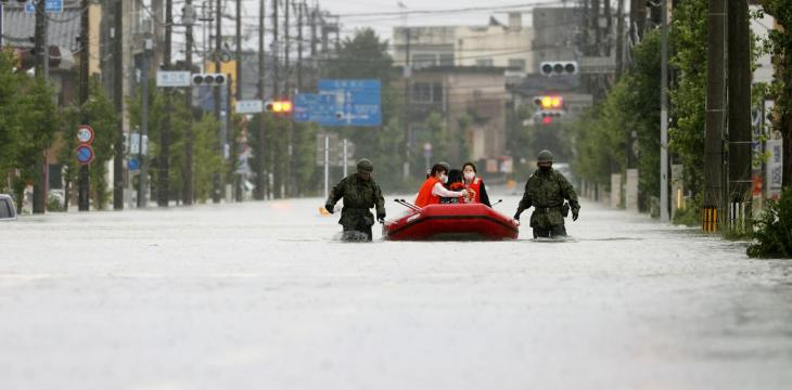 Japan Boosts Rescue Efforts as it Warns of More Rain in Flood-Hit Areas