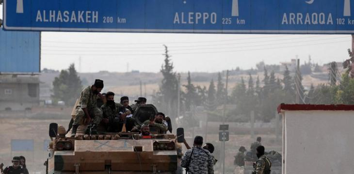 Turkish Army Strikes West Manbij, Deploys Patrols with Russia in Hasakeh