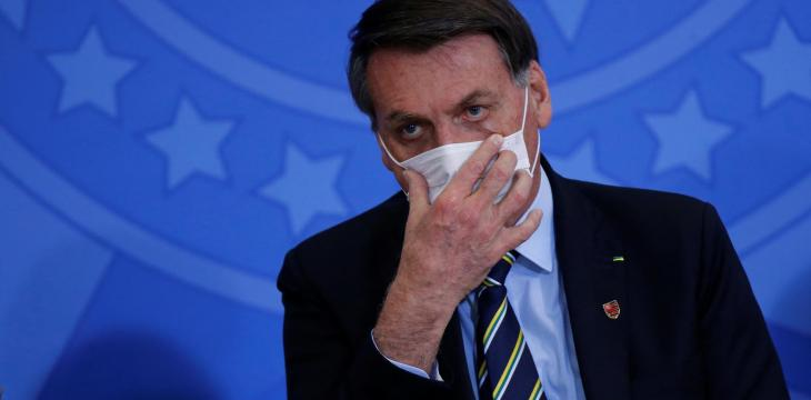 Brazil's Bolsonaro, Sick with Coronavirus, Says he is 'Doing Very Well'