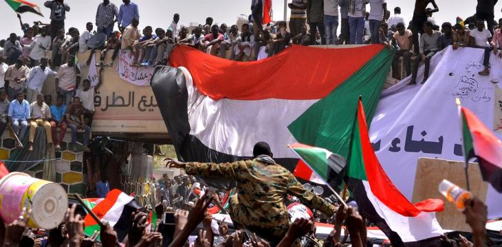Sudan Officer in Court for Running over Demonstrator