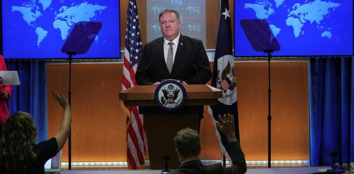 Pompeo Says US Seized Iranian Weapons on Way to Houthis in Yemen