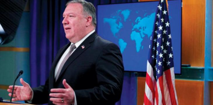 Pompeo Pledges to Stop Iran Oil Exports to Hezbollah