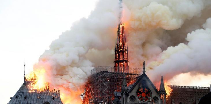 Minister: 'Consensus' Notre-Dame Spire Should be Rebuilt as it Was
