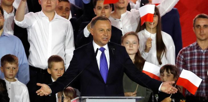 Poland's Incumbent Duda Wins Presidential Election