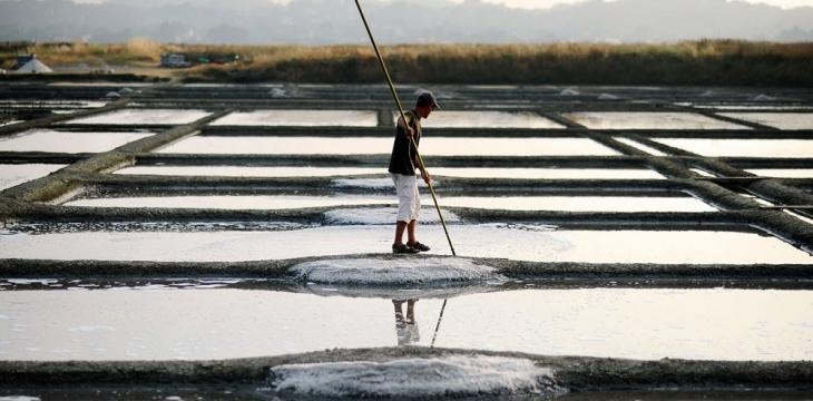 Honoring Tradition, French Artisans Harvest Salt from the Sea