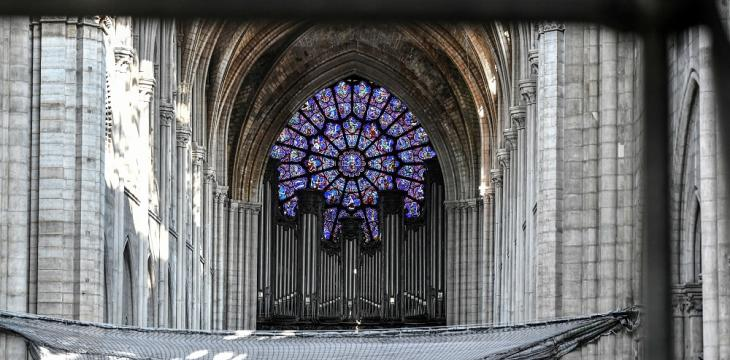 Notre-Dame Cathedral's Organ Getting 4-Year-Long Cleaning