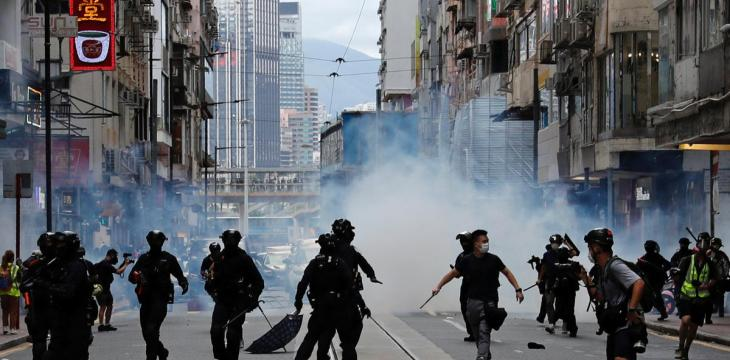 UK Lawmakers Urge Sanctions Over Hong Kong Police Violence