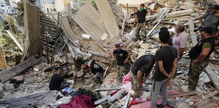 International Aid Heads to Beirut after Blast