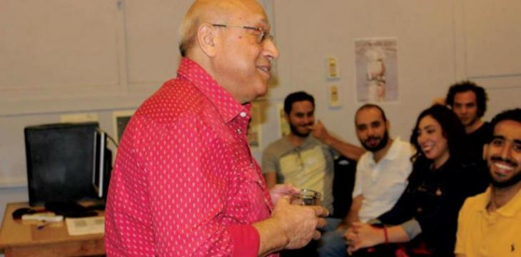 Graduating Class of Film Students Named 'Samir Seif Class' at Jesuit Cairo