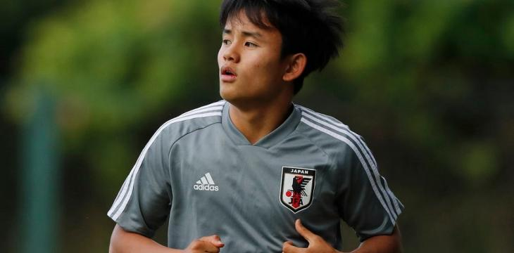 Japanese Youngster Kubo Joins Villarreal on Loan from Madrid