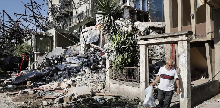 Stranded Lebanese Desperate to Rebuild after Blast