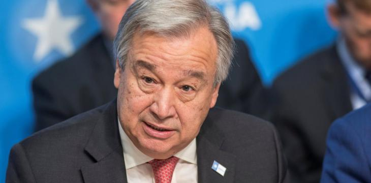 Guterres Warns COVID-19 Outbreak Risks New Conflicts