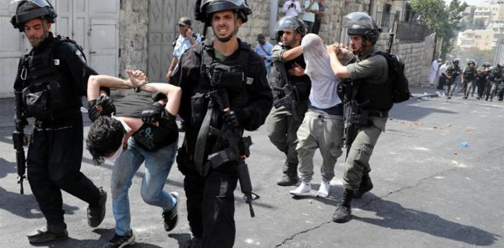 Israel Arrested 429 Palestinians in July, including 32 minors
