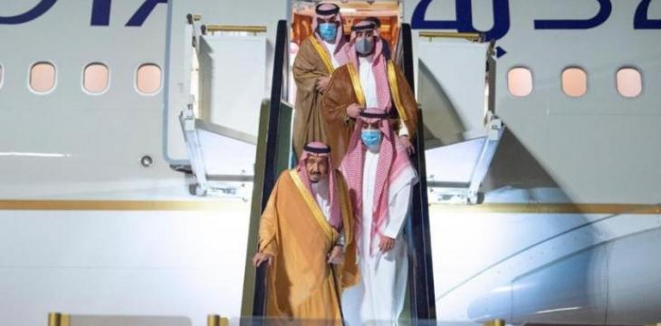 Saudi King Arrives in NEOM to Rest