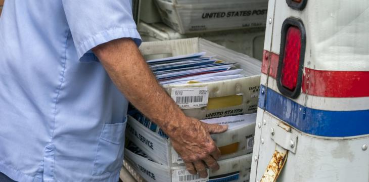Trump Says He's Blocking Postal Cash to Stop Mail-in Votes
