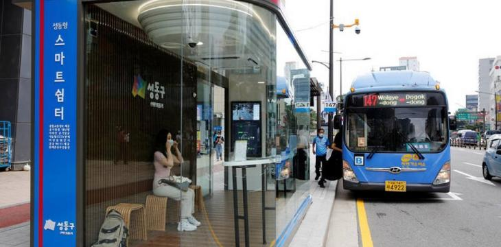 Asian Cities Virus-Proof Public Transit with Smart Shelters, Thermal Scanners