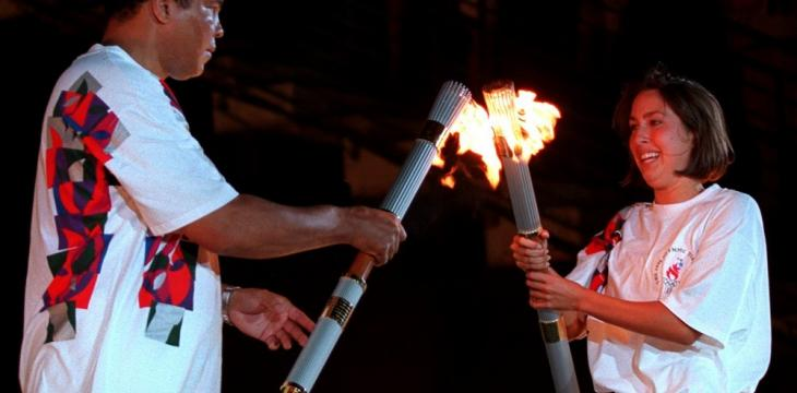 A Flame, a Look, One of the Olympics' Most Powerful Moments