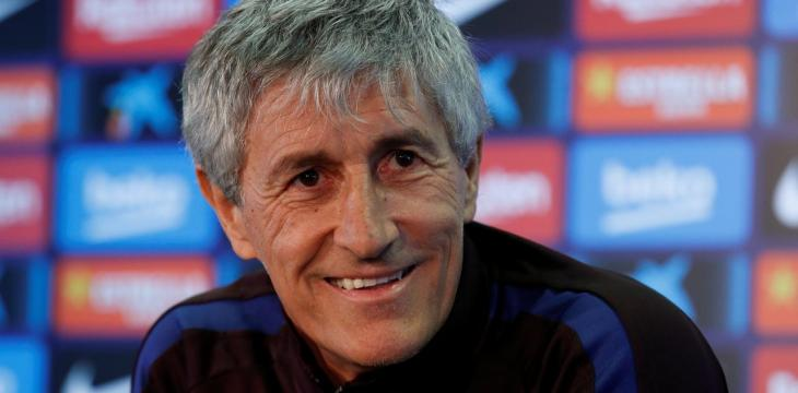 Barcelona Coach Setien: 'Too Soon' to Discuss Future