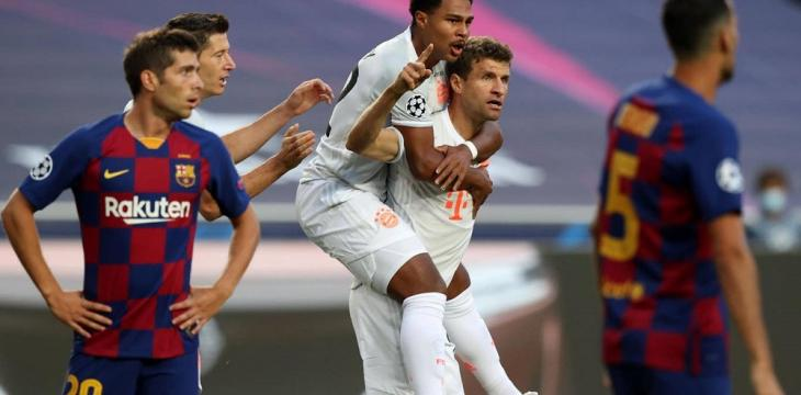 Müller Tops 7-1 Brazil Rout with 8-2 Barcelona Thrashing
