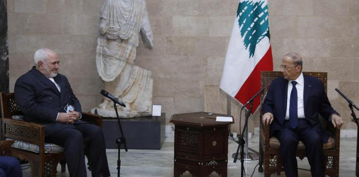 Zarif Says Lebanon's People Must Decide their Country's Future