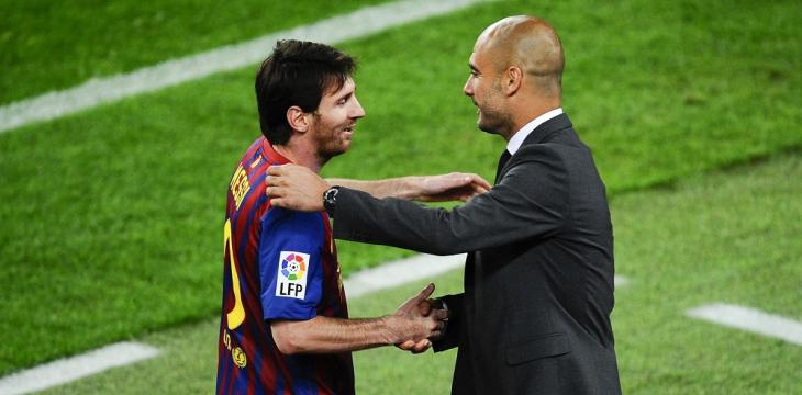 Subdued Guardiola Tight-Lipped over Future Move for Messi
