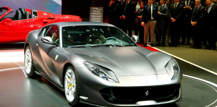 Ferrari Unveils First New Model after Pandemic Closure