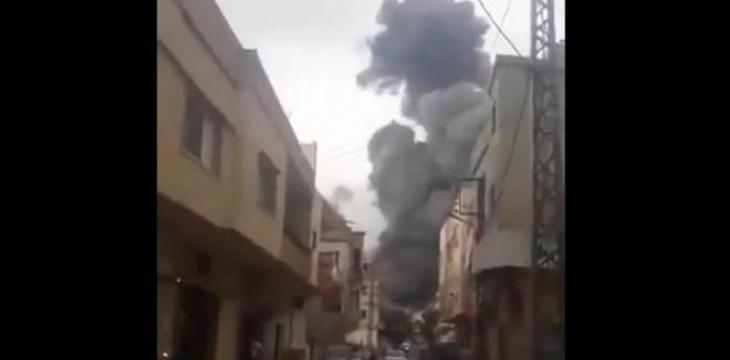 Arms Depot of Hezbollah Explodes in South Lebanon
