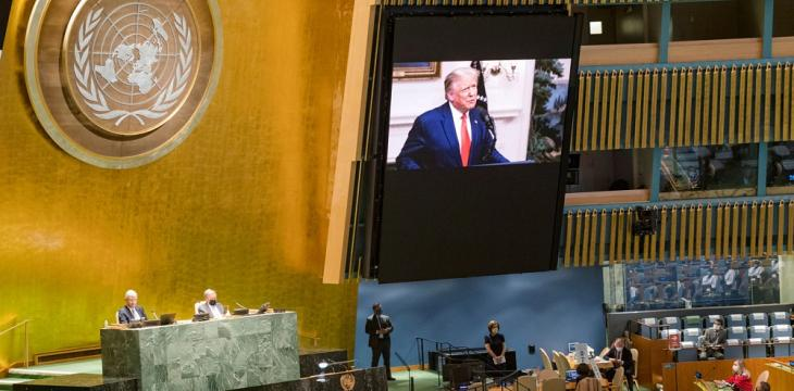 At UN, Trump Demands Action against China over Virus, Xi Urges Cooperation